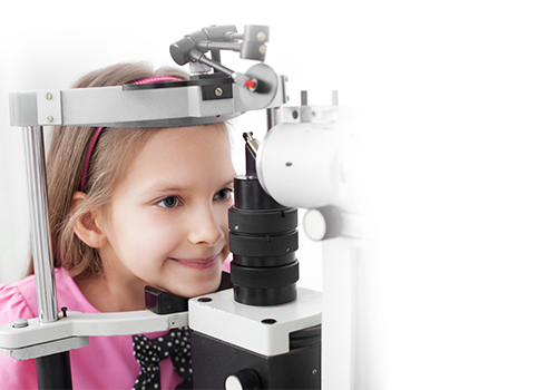 Pediatric Optometrist Visit